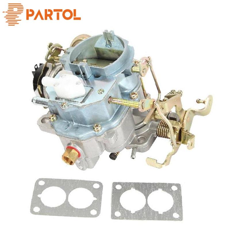 Partol voiture carburateur 6 CYL 2-baril Carter Type BBD carburateur 4.2L 258Cu. In moteur AMC pour Jeep Wrangler CJ5 CJ7 pièces automobiles