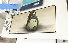 Тоторо геймерский коврик для мыши гель 700x300x3 мм игровой мышь pad большой запястий тетрадь pc интимные аксессуары ноутбук padmouse эргономичный коврик