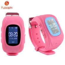 Q50 GPS Crianças Bebê Relógio Inteligente Relógios Para Crianças SOS chamada Local Rastreador Anti Perdido Chlid Relógio de Pulso Para IOS iPhone Android