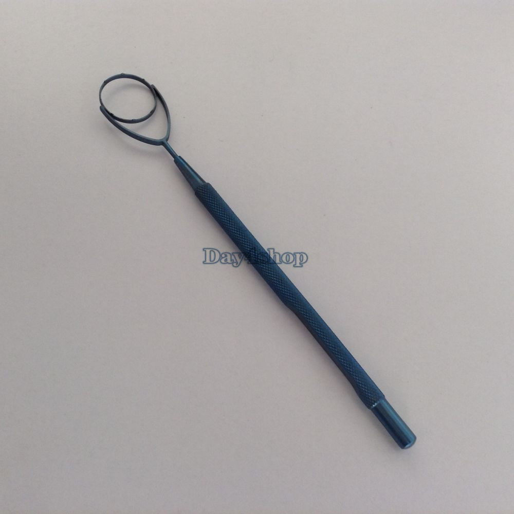 New Titanium Fixation Ring ophthalmic surgical instrument