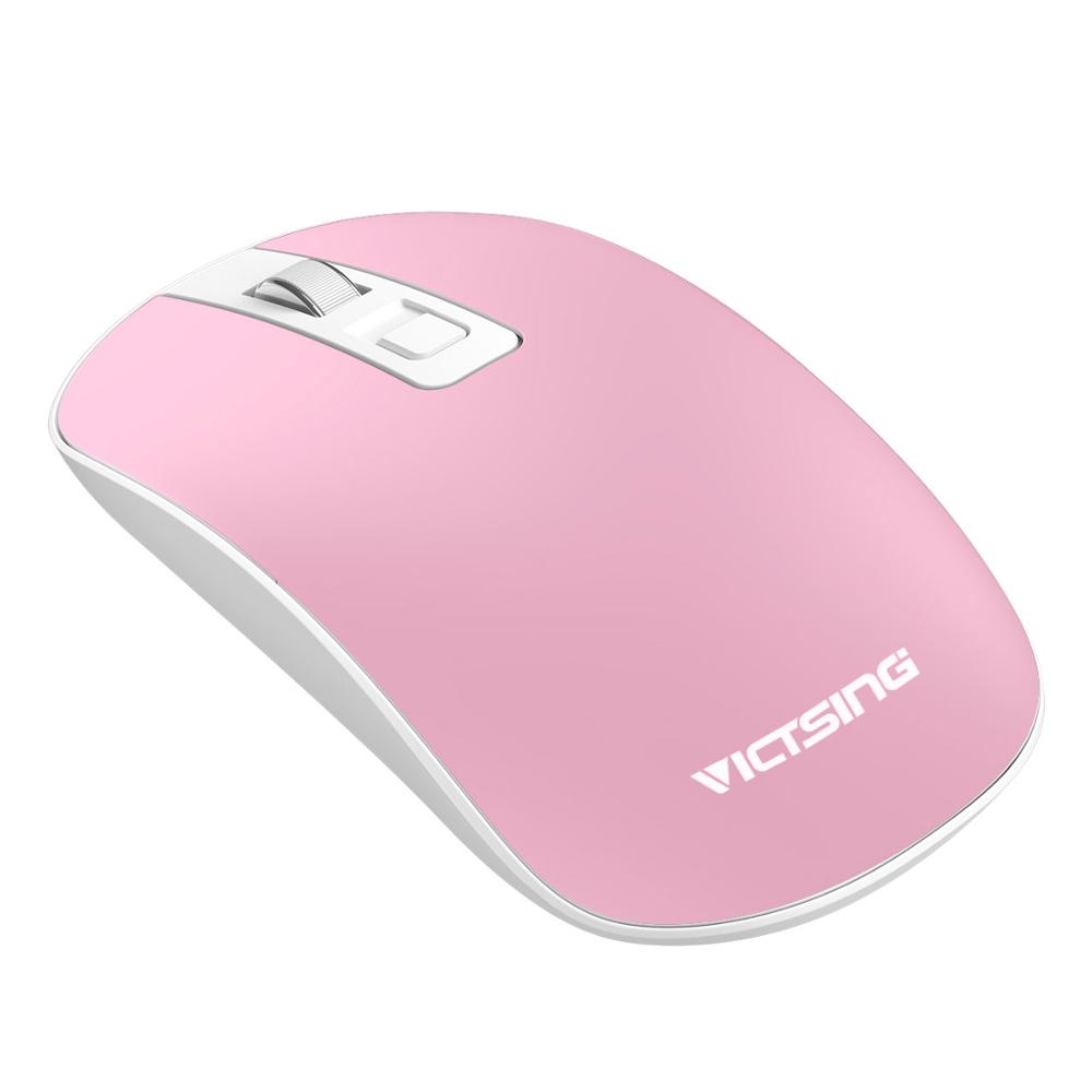 US $6 56 54% OFF VicTsing 2 4G Wireless Mouse DPI Adjustable Click  Noiseless Computer Mouse Smooth Comfortable Slim Ergonomic Mouse for  PC/Laptop-in
