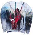 Moda Sexy Suor Mulheres/Homens Beyonce Giselle Knowles 3D Imprimir Camisola Hoodies Harajuku Bonito Jumper plus size S-3XL