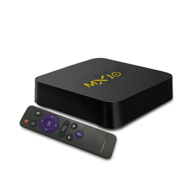 MX10 Smart ТВ Box Android 9,0 RK3328 4 ядра 64bit DDR4 4 ГБ 32 ГБ 4 K HD Wifi 100 M LAN USB3.0 телеприставки медиаплеера 4