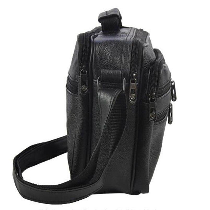 business men pu leather bolsa Men Shoulder Bag : Men Casual Bag