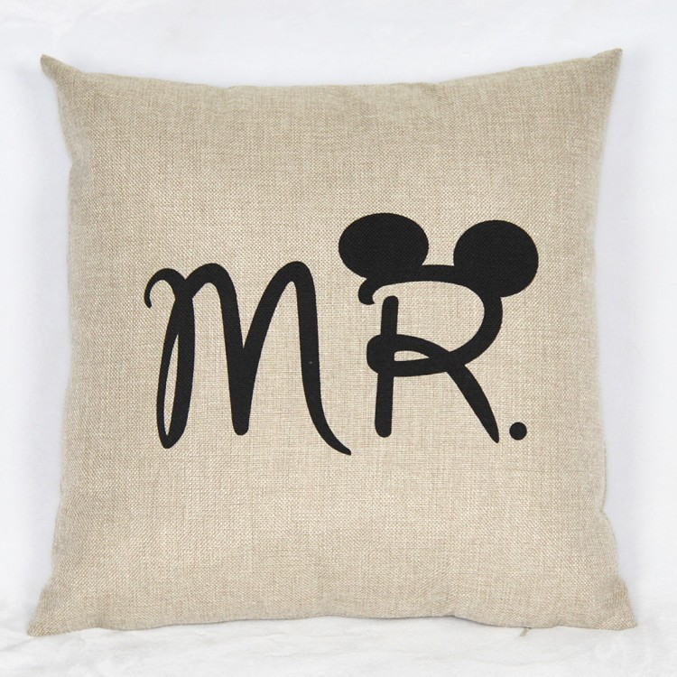 HTB1aEVgJVXXXXaGXVXXq6xXFXXXU - Poszewka na poduszkę Mr and Mrs