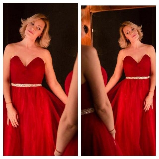 100% Αληθινές Εικόνες Κομψή Φόρεμα - Ειδικές φορέματα περίπτωσης - Φωτογραφία 5