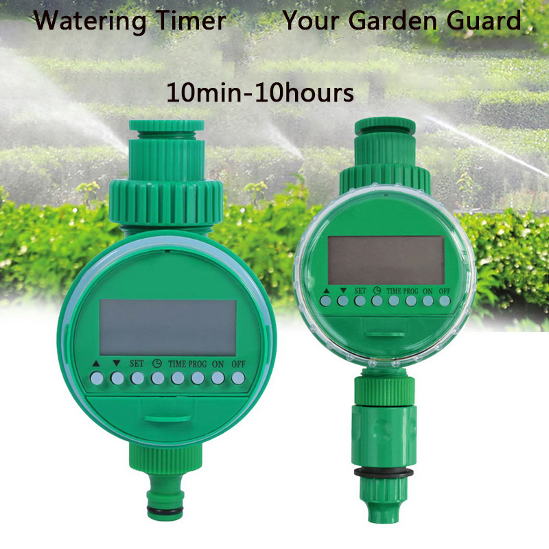 Water Timer Garden Automatic Irrigation Watering Timer Hose Faucet Tap Controller Timer LCD Display 1Pcs