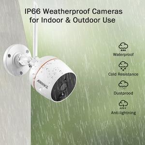 Image 5 - Annke 1080P Ip Netwerk Wifi Security Camera IP66 Waterdichte Indoor Outdoor 2.0MP Surveillance Camera Voor Wifi Nvr Cctv Systeem
