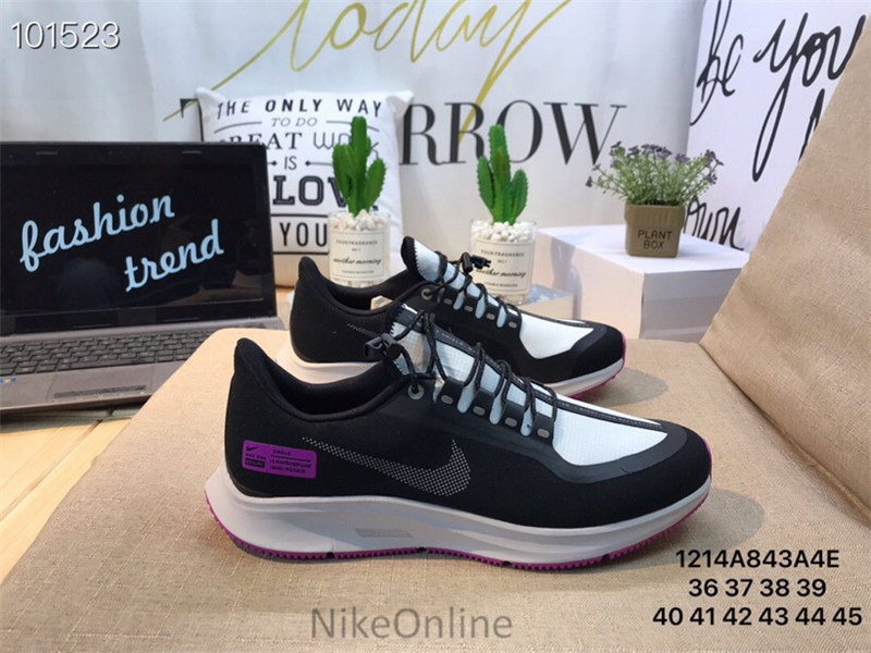 the best attitude 9e206 39ef3 US $55.03 30% OFF|New Arrival Original Nike AIR Zoom Pegasus 35 SHIELD  Men's Breathable Running Shoes Outdoor Sport Shoes 40 45-in Running Shoes  from ...