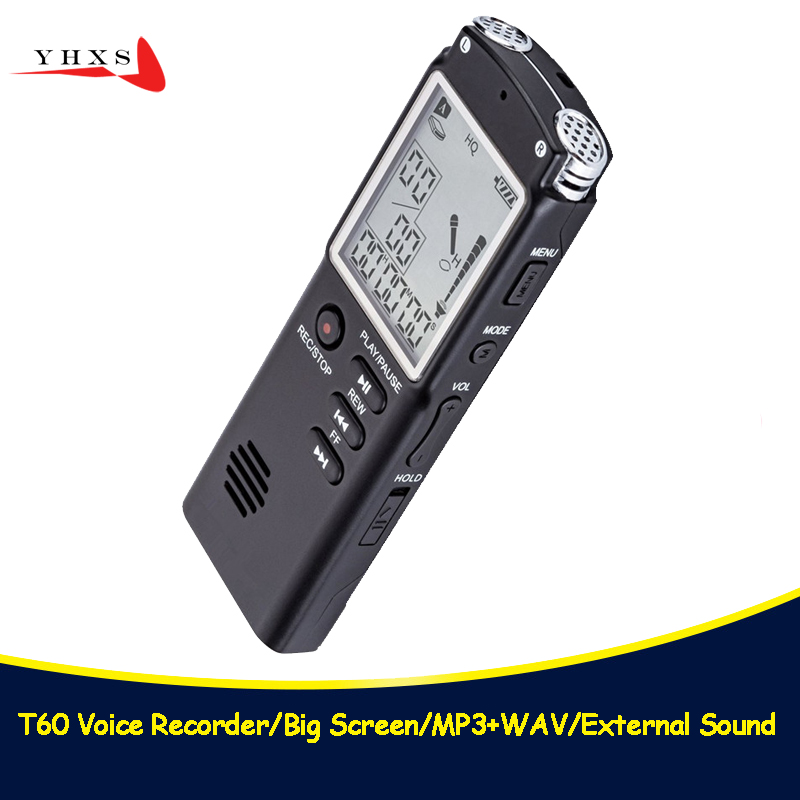 Portable 32GB Original Voice Recorder USB Professional 96 Hours LCD Dictaphone Digital Audio Voice Recorder with WAV MP3 Player noyazu d35 professional camcorder audio recorder portable digital voice recorder usb support multi language tf card up to 32gb