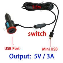 DC 8 36V To 5V 3A Dual USB Car Charger Adapter For Navigation Car DVR Vehicle