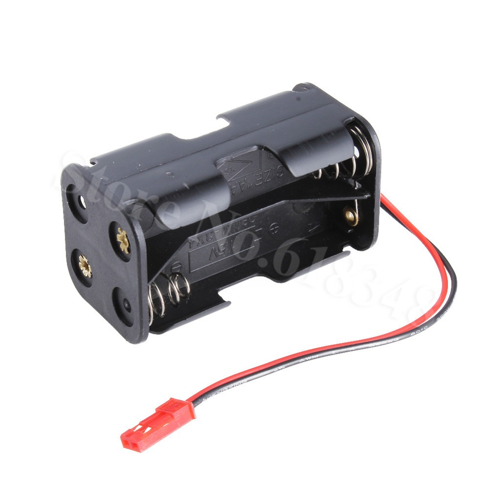 HSP 02070 AA Battery Container Case JST Plug for RC 1//10 1//8 Nitro Power Car