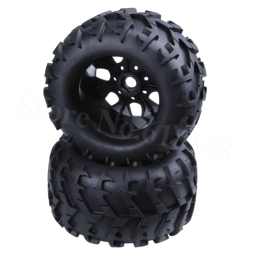 Truck Wheels And Tires >> Detail Feedback Questions About 4pcs 3 2 Inch Rc 1 8 Monster Truck