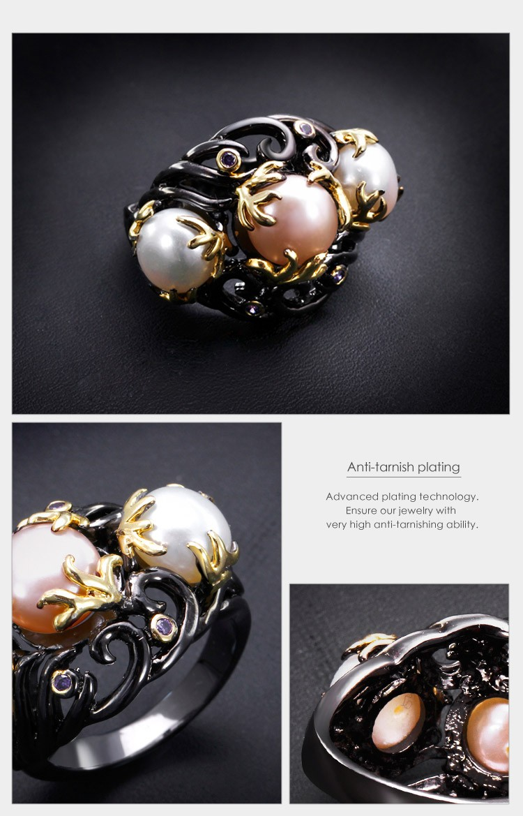 Wholesale Ring with Pearl