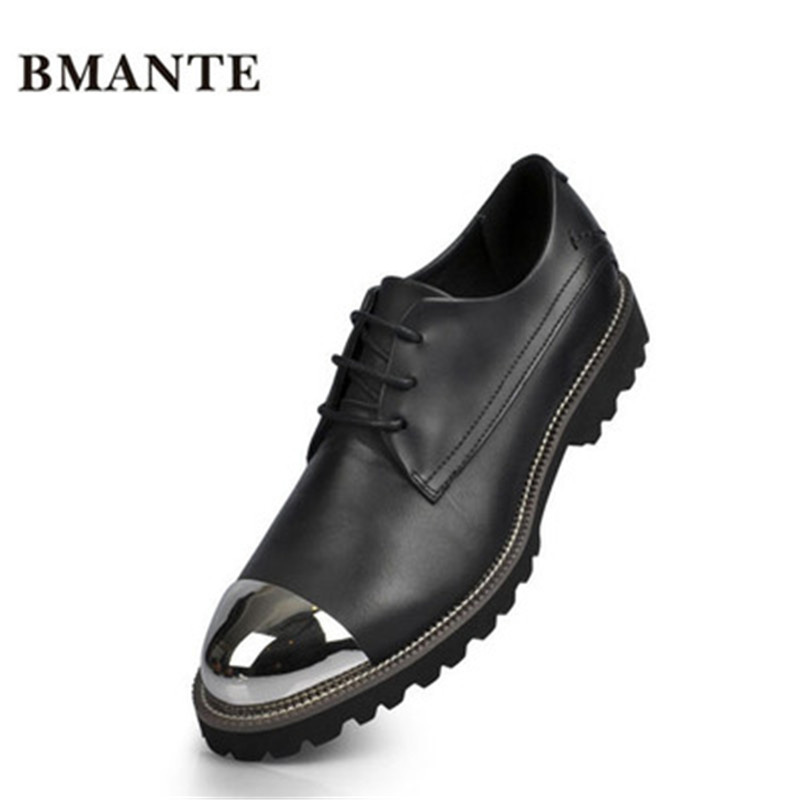 Luxury Trainers Summer Male Adult Shoes New Men Genuine Leather Shoes Casual Lace-up Business Flats Spring Black Shoes men summer increase leather shoes 6cm comfortable business casual black blue us9 5 lace up leather shoes cy712 2