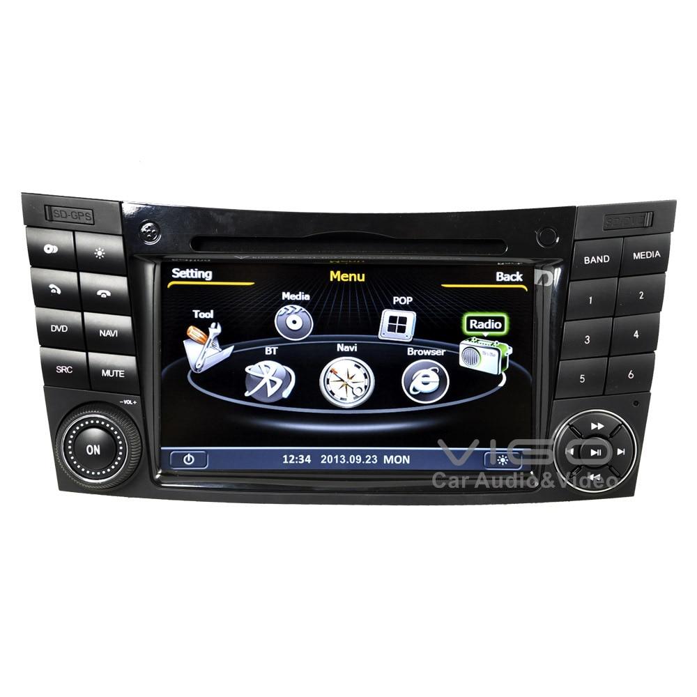 car stereo gps navigation for mercedes benz e class w211 e320 e500 clk cls dvd player multimedia. Black Bedroom Furniture Sets. Home Design Ideas