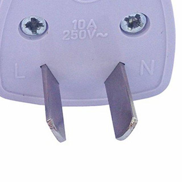 Two-Legged Power Conversion Plug Connector Adapter Power Plug Eight-Pin Power Plug 2