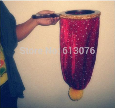 change bag ,Repeat ,Large size (The Stars and The Moon) ,20*45cm - Magic trick,bag magic,magic accessories,stage magic the sampar magic sampar