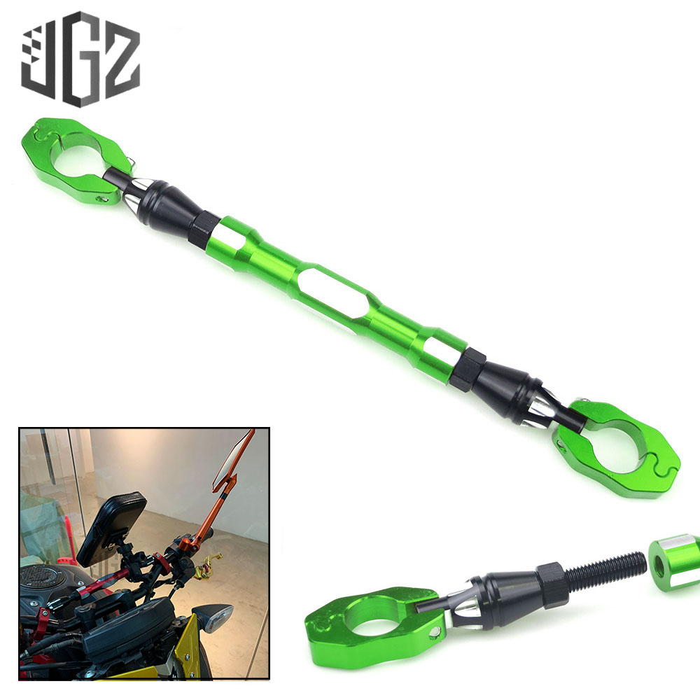 22mm Green Motorcycle Handlebar Extension Bar Balance Rebar for <font><b>KAWASAKI</b></font> Z125 Z650 <font><b>Z900</b></font> Z900RS KLX250 KLX110 KLX650 <font><b>Accessories</b></font> image