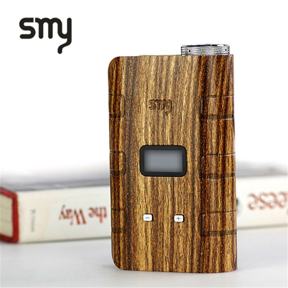 Vente 100% Original Smy God 180 S Mod 220 W boîte Mod 18650 mécanique Mod électronique Cigarette narguilé Vape stylo Mod boîte