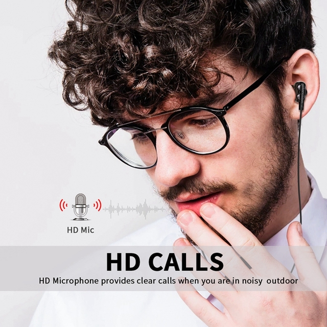 Langsdom D4C Wired Earphone Headphones with Microphone Dual Driver Phone Earphones Type C Ear phones auriculares fone de ouvido 3