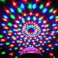 Bola de cristal Mágica Efecto de Luz Etapa de Proyección de Láser de Control de Sonido para Dj disco Club Bar Fiesta de Navidad AC110-240V enchufe de LA UE