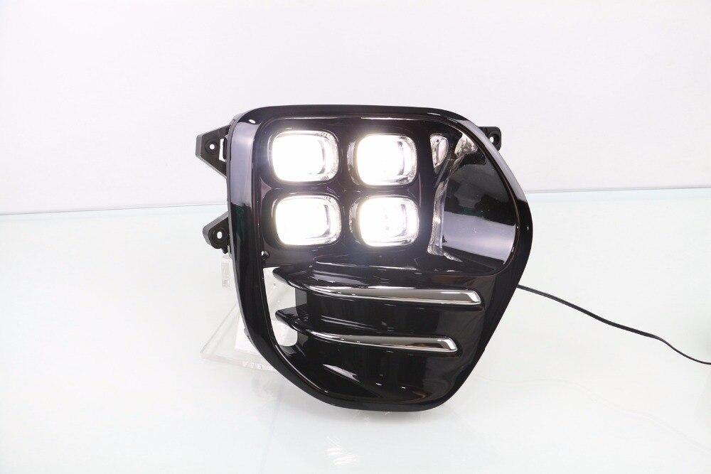 Osmrk СИД DRL дневного света противотуманная фара для Kia KX5, оригинальный дизайн, беспроводной переключатель