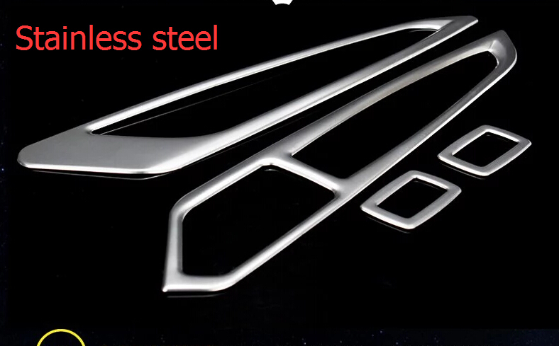 For BMW X5 F15 2014-2016 Stainless Steel Inner Door Armrest Window Lift Button Cover Interior Trim 4 pcs / set иегуди менухин карита маттила orchestre philharmonique de radio france ютако садо choeur de radio france yutaka sado bernstein kaddish