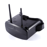 Light Weight 5 8G 40CH 480x272px Settled Three Point Fillet 4 3 Inch HD FPV Goggles