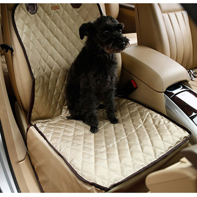 Waterproof Pet Car Seat Cover Single Front Rear Protector Booster Dog Hammock