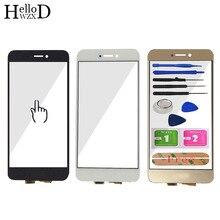 5.2 écran tactile pour HuaWei Honor 8 Lite écran tactile verre numériseur panneau écran tactile avant verre lentille capteur adhésif
