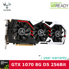 Colorful NVIDIA GeForce GTX iGame 1070 GPU Graphics card 8GB GDDR5 256bit PCI-E X16 3.0 Gaming Video Card Graphics Card gtx1070(China)