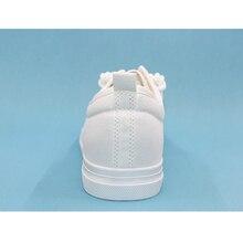 Hot Sale Men Black White Canvas Shoes Breathable