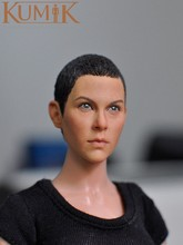 Black 1/6 Short Hair Female Head Sculpts Model Toys 15-23 For 12″ Action Figure Accessory Toys For Children