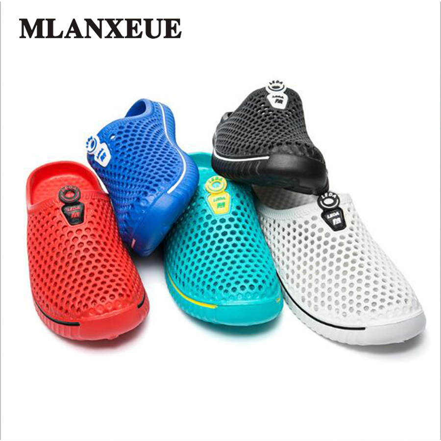 Slippers  2018 Summer Men's Sandals Fashion Breathable Beach  Flip Flop EVA Massage Slippers Bathing Shoes Lovers  sandals Boy s coolsa women s candy color indoor massage slippers lightweight solid eva home non slip massage slippers beach slippers flip flop