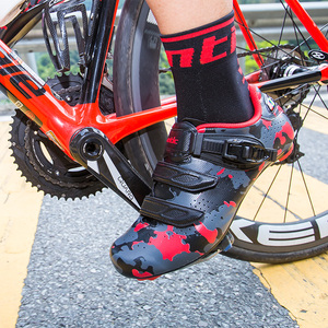 Image 3 - Santic ขี่จักรยานรองเท้าคาร์บอนไฟเบอร์จักรยานรองเท้าผู้ชาย Professional Racing ทีมรองเท้าผ้าใบ Breathable กีฬากลางแจ้งรองเท้า