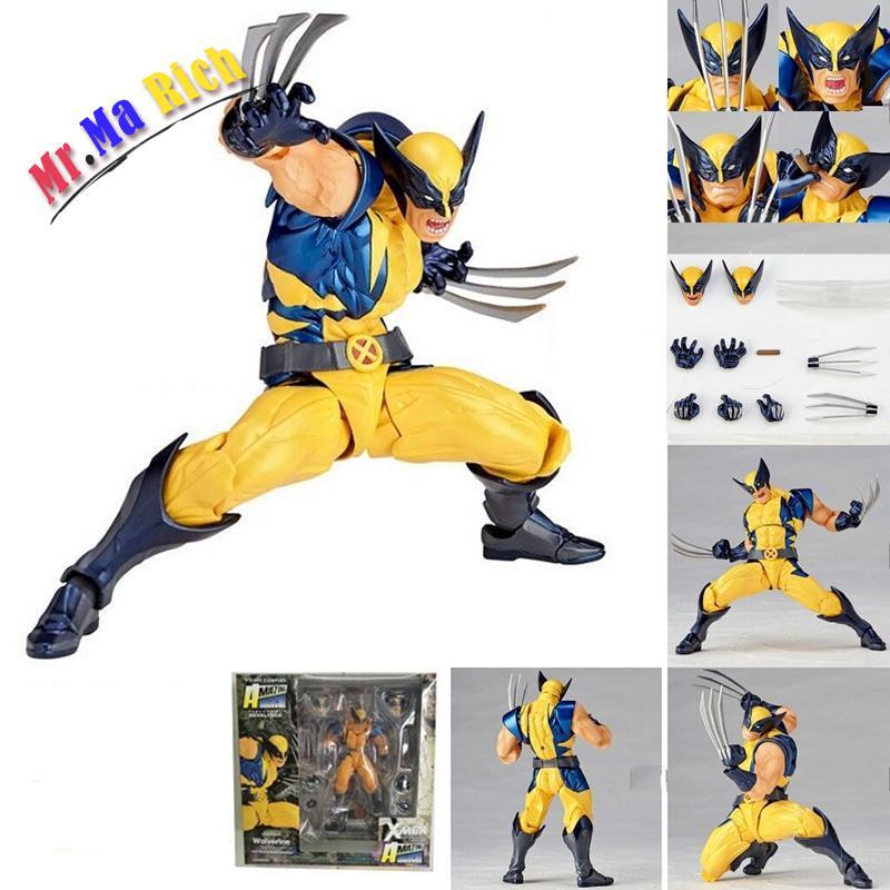 Wolverine Variante Figurativo Variabile Wolverine Logan Action Pvc Figure Toy Doll Brinquedos Bambola Di San Valentino