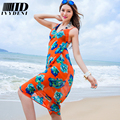 2016 New Fashion Ladies Swim Cover Up Dresses Women Chiffon Scarf Printed Pareos Beach Sarongs Colorful Sexy Swimsuit Cover Ups