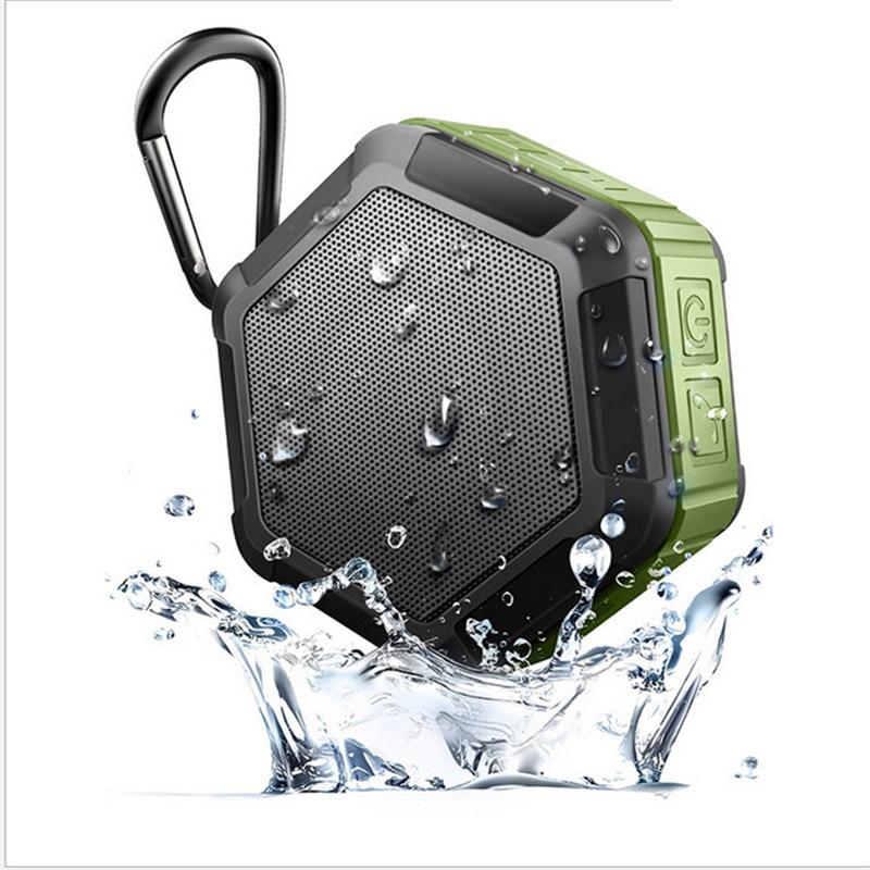 Waterproof Outdoor Wireless Bluetooth 4 0 Stereo Portable Speaker Built in mic Shock Resistance Speaker with