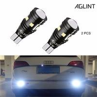 AGLINT 2PCS High Bright 400 Lumens Backup Reverse Light Bulb 912 921 W16W T15 3030 Bulbs