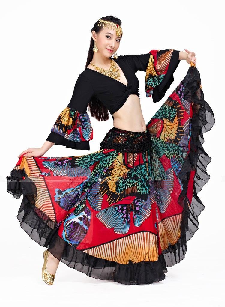 Цыганская юбка цветок