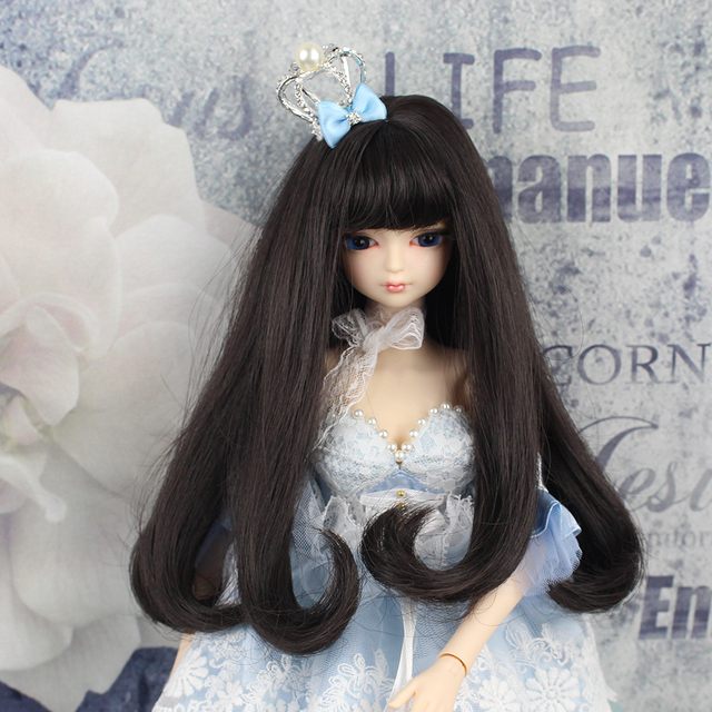 MMGIRL BJD DOLL forturn days 1/4 45cm sweet girl with makeup hair black hair with/without outfits shoes  3