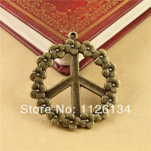 A1812 fashion jewelry vintage circle stripe peace sign pendant retro a1812 fashion jewelry vintage circle stripe peace sign pendant retro necklaces accessory mozeypictures Image collections