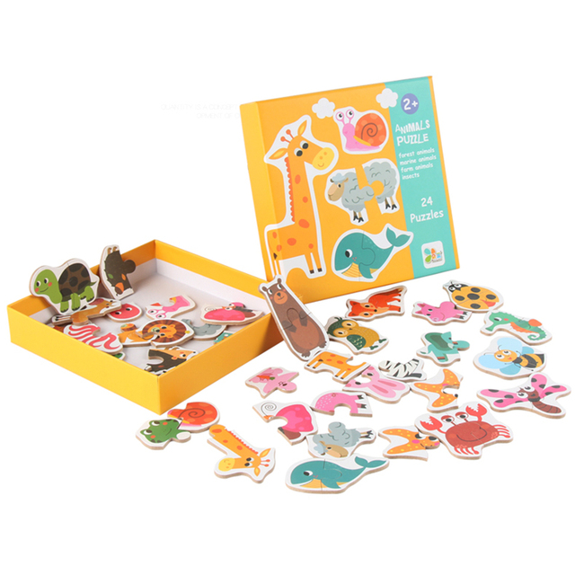Kid's Early Learning Matching Puzzles Board Game