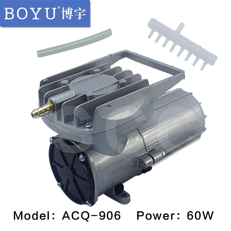 60W DC 12V Seafood transport aquatic animals live transport aerators car DC air pump air compressor