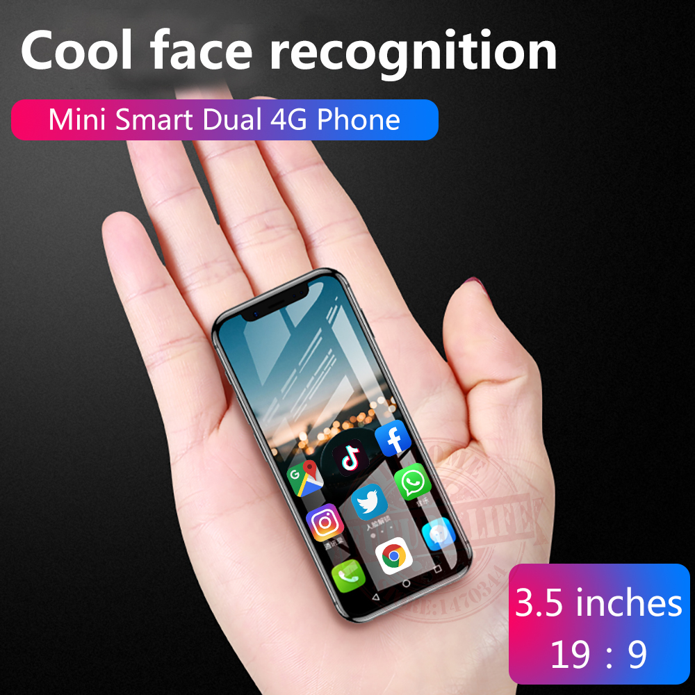 Anica K-TOUCH I9s 3G+32G Smallest Mini Dual 4G Ultra Thin 3.5 Screen Face ID Dual SIM Dual Standby Android 6.0