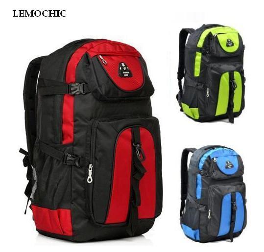 De alta calidad de gran capacidad al aire libre del alpinismo mochila de viaje d