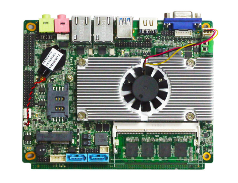 motherboard combo embedded motherboard support HDMI+VGA intel core i7 processor integrated