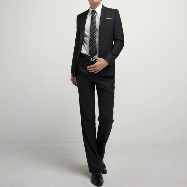 Suit + pants varón vestido de boda comercial delgado traje de chaqueta cintura delgada Suit set