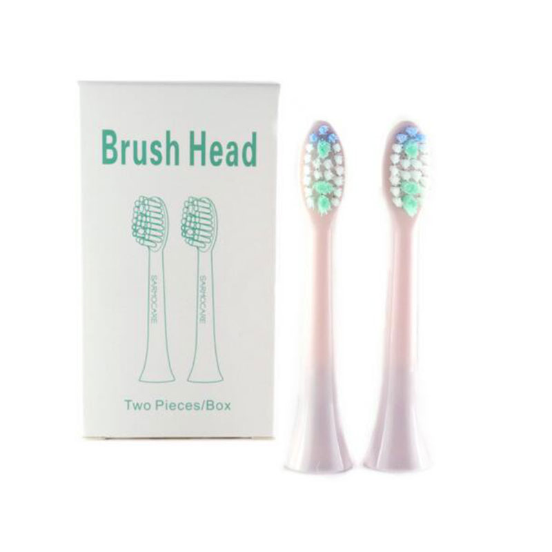 2 Pcs Replacement Electric Toothbrushes Head For Sarmocare S100 S200 Ultrasonic Sonic Fit Digoo DG-YS11